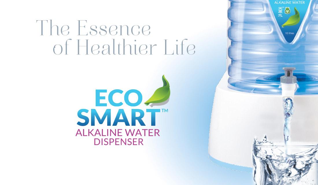 EcoSmart alkaline water dispenser