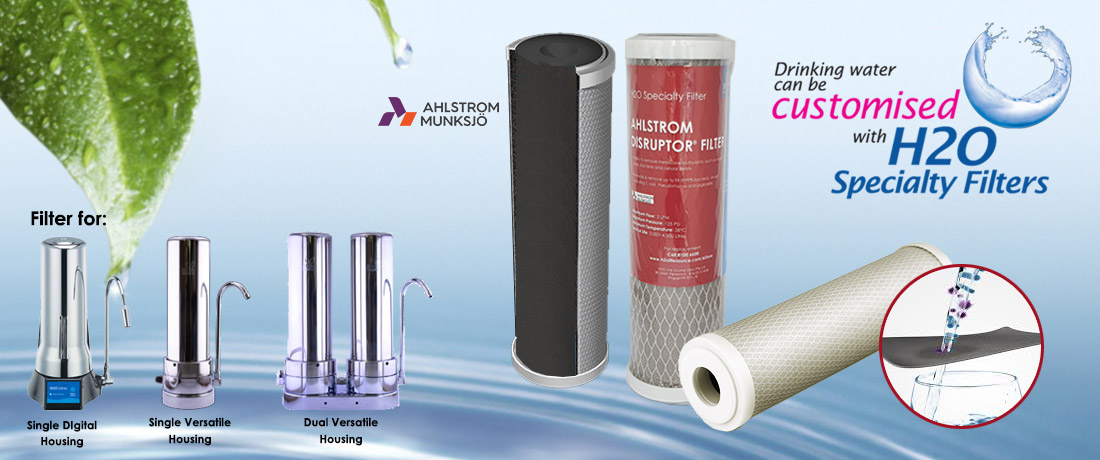 Ahlstrom Disruptor water filter