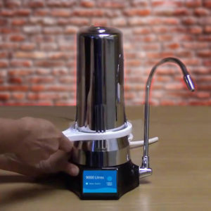 ALKA-BOOST water filter