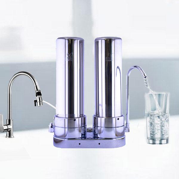 ANTI-THM + ALKA-BOOST water filter