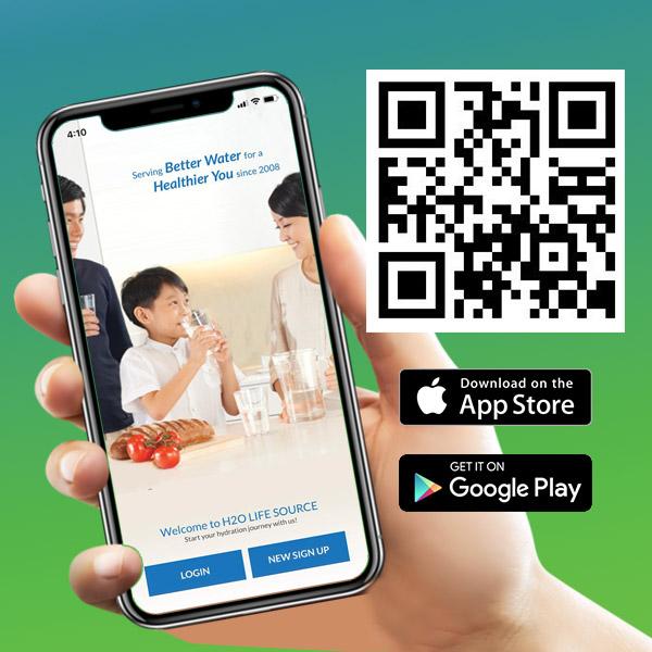 QR code downlaod H2O App